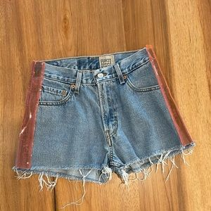 Furst Of A Kind Levi's 550s neon pink shorts - 6